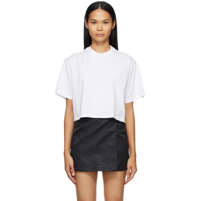 1017 ALYX 9SM 白色徽标 T 恤