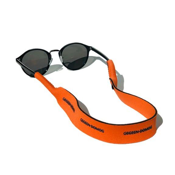 【friendly island】運動眼鏡繩子復古透明黑框太陽墨鏡掛繩