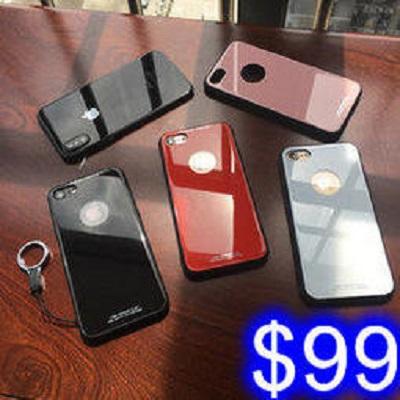 玻璃殼 蘋果 iphoneX 鋼化玻璃背蓋手機殼 蘋果防摔殼 高強度玻璃手機殼