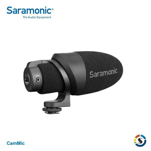 【Saramonic 楓笛】CamMic 輕量化相機、手機專用麥克風