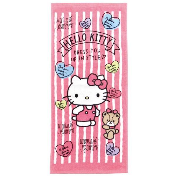 凱蒂貓愛戀熊熊毛巾【康是美】