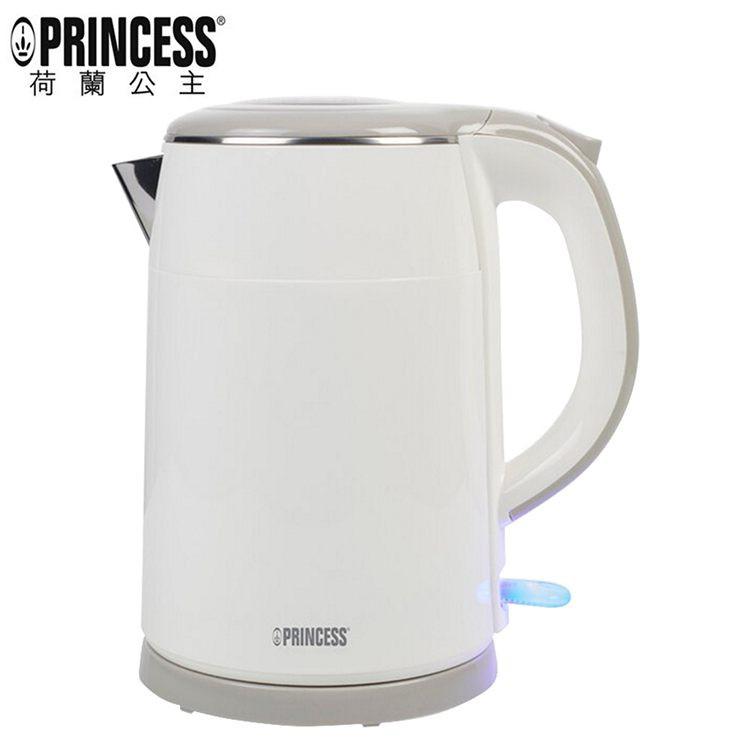 PRINCESS荷蘭公主 1.5L不鏽鋼防燙快煮壺-白 236070 (免運)