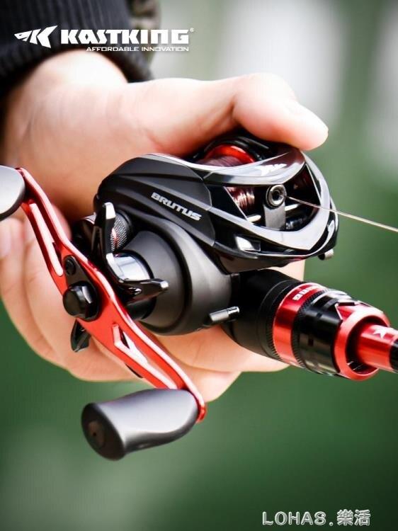 路亞竿套裝水滴輪遠投釣魚竿海竿馬口竿碳素超硬鼓輪雷強打黑全套yh