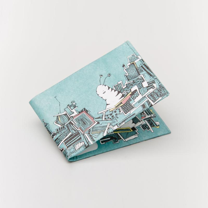 【paprcuts.de】零錢短夾/土耳其藍