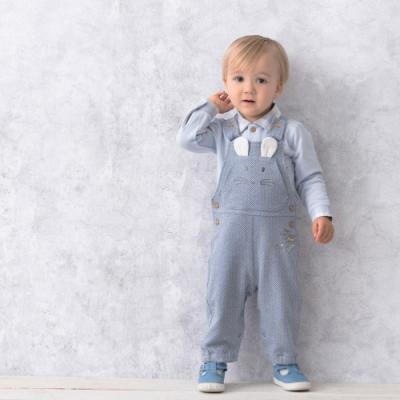 奇哥 寶貝比得背帶褲/吊帶褲-藍 (3歲)