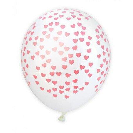 法國ScrapCooking愛心氣球(28cm) 6入
