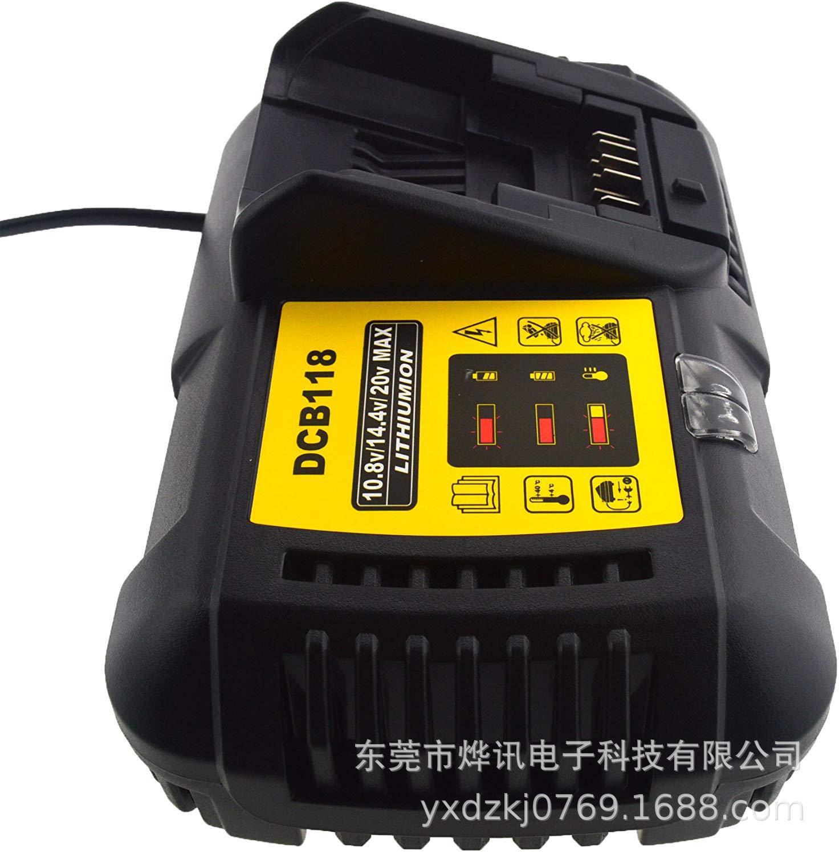 DCB118鋰電池充電器4.5A兼容10.8/14.4/20/60V【聖誕禮物】