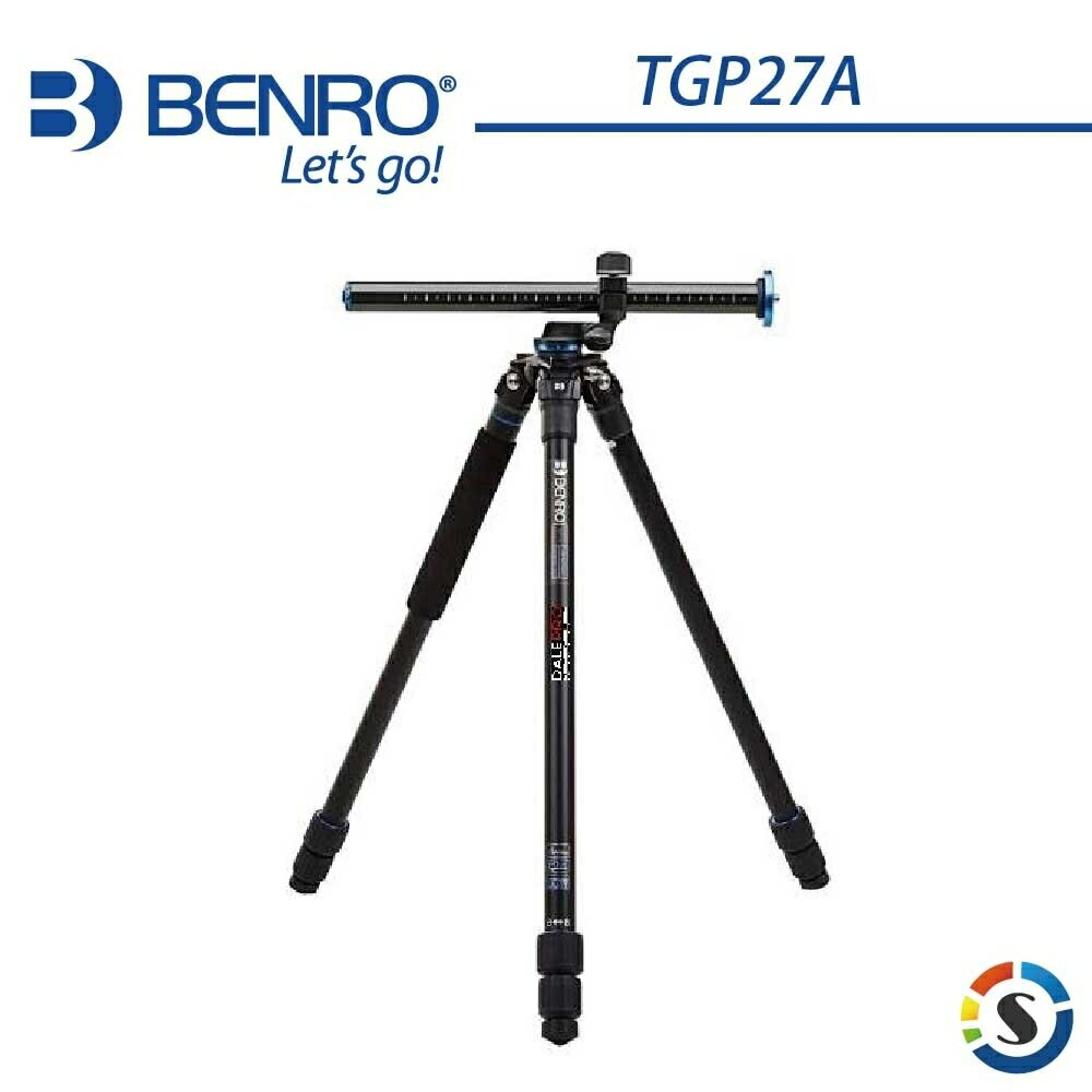 BENRO百諾 TGP27A SystemGo Plus系列鎂鋁合金三腳架