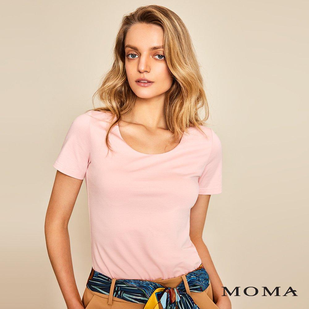MOMA(01M035)圓領短袖上衣