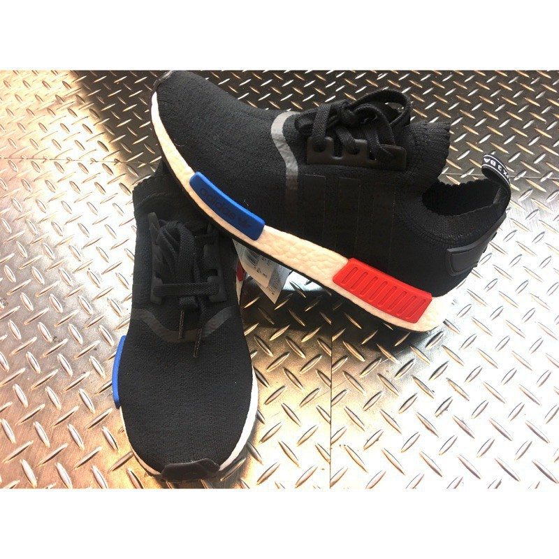 全新正品 Adidas NMD R1 初代 藍紅 PK 男女款現貨