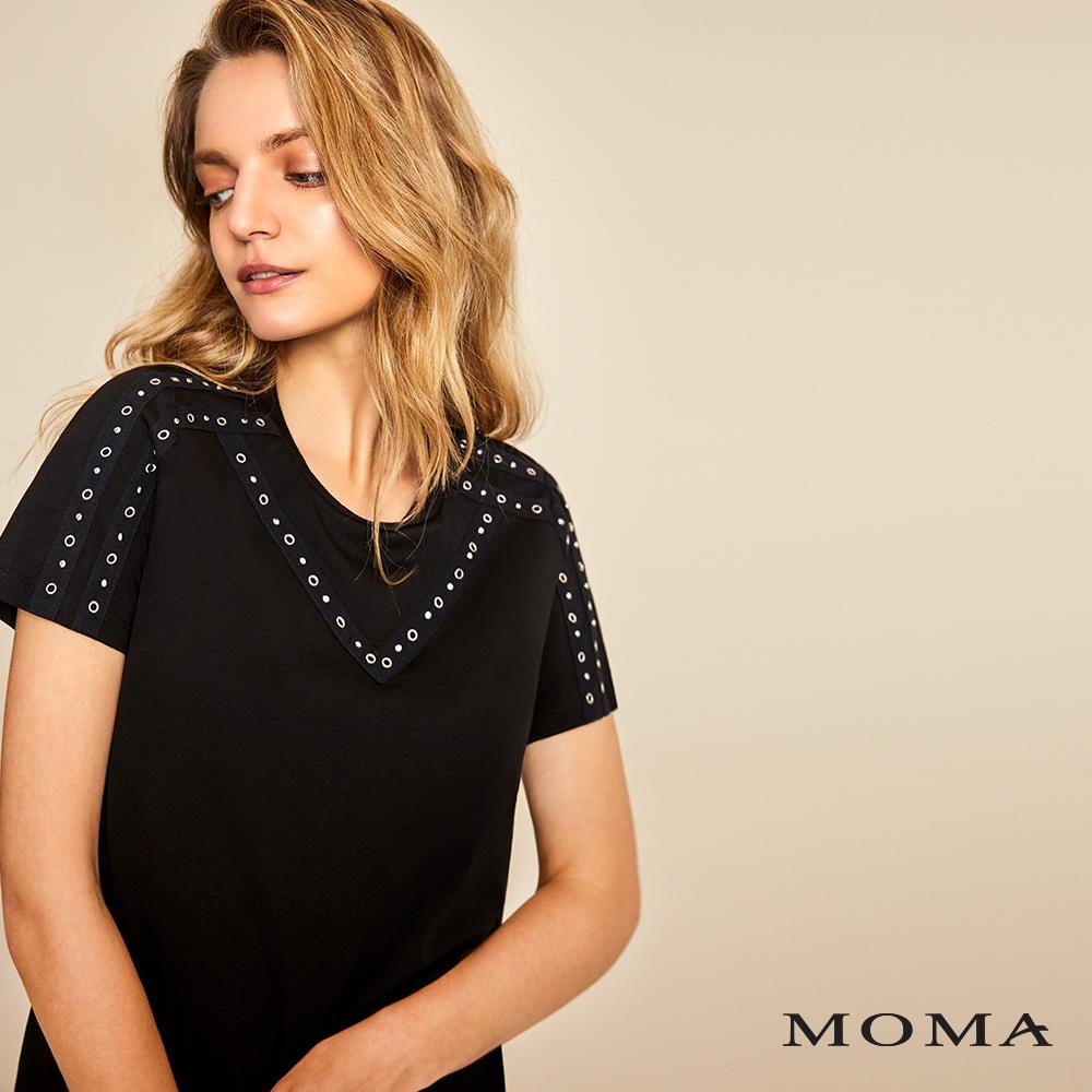 MOMA(01M016)鉚釘裝飾T恤