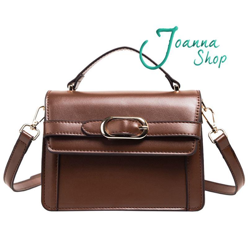 高質感復古時尚熱銷手提斜背包2-Joanna Shop