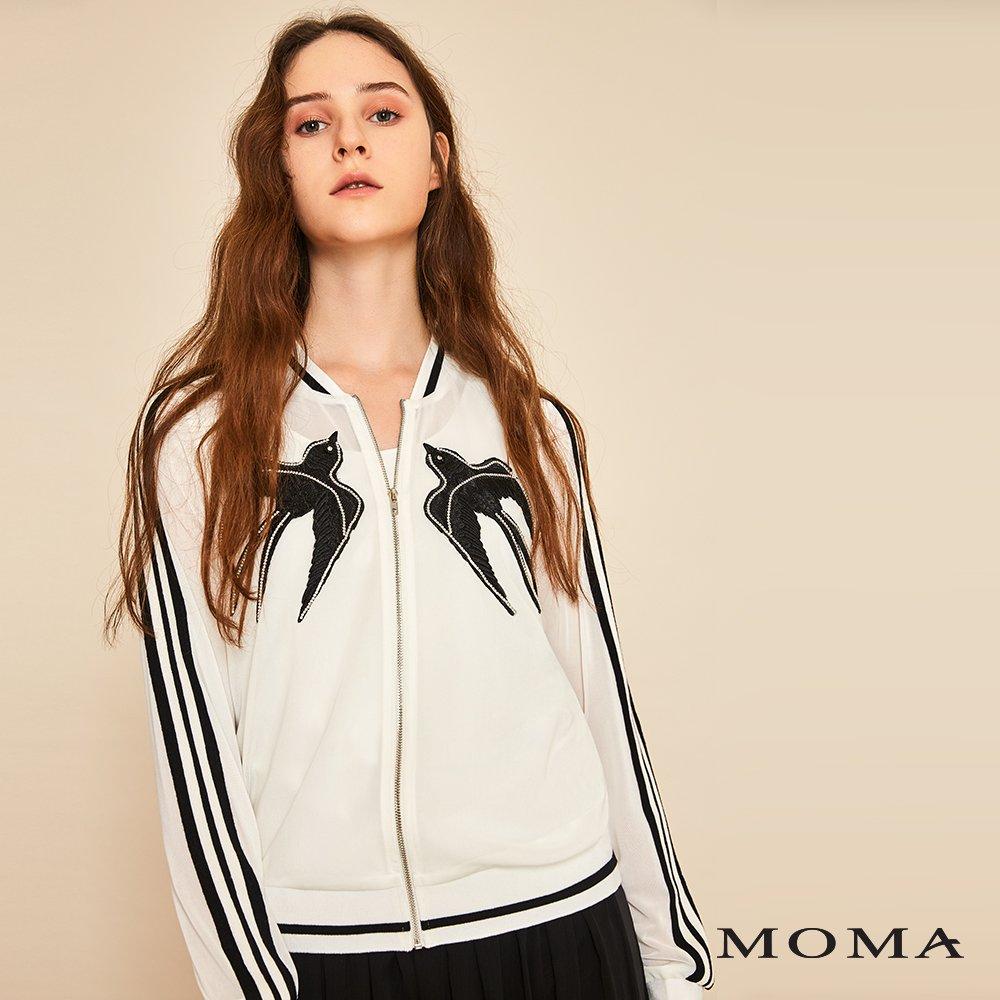 MOMA(01J011)燕子透視外套