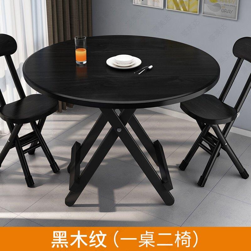 折疊桌 折疊圓桌餐桌椅組合家用小戶型簡易戶外擺攤便攜式方桌吃飯桌租房【xy3726】