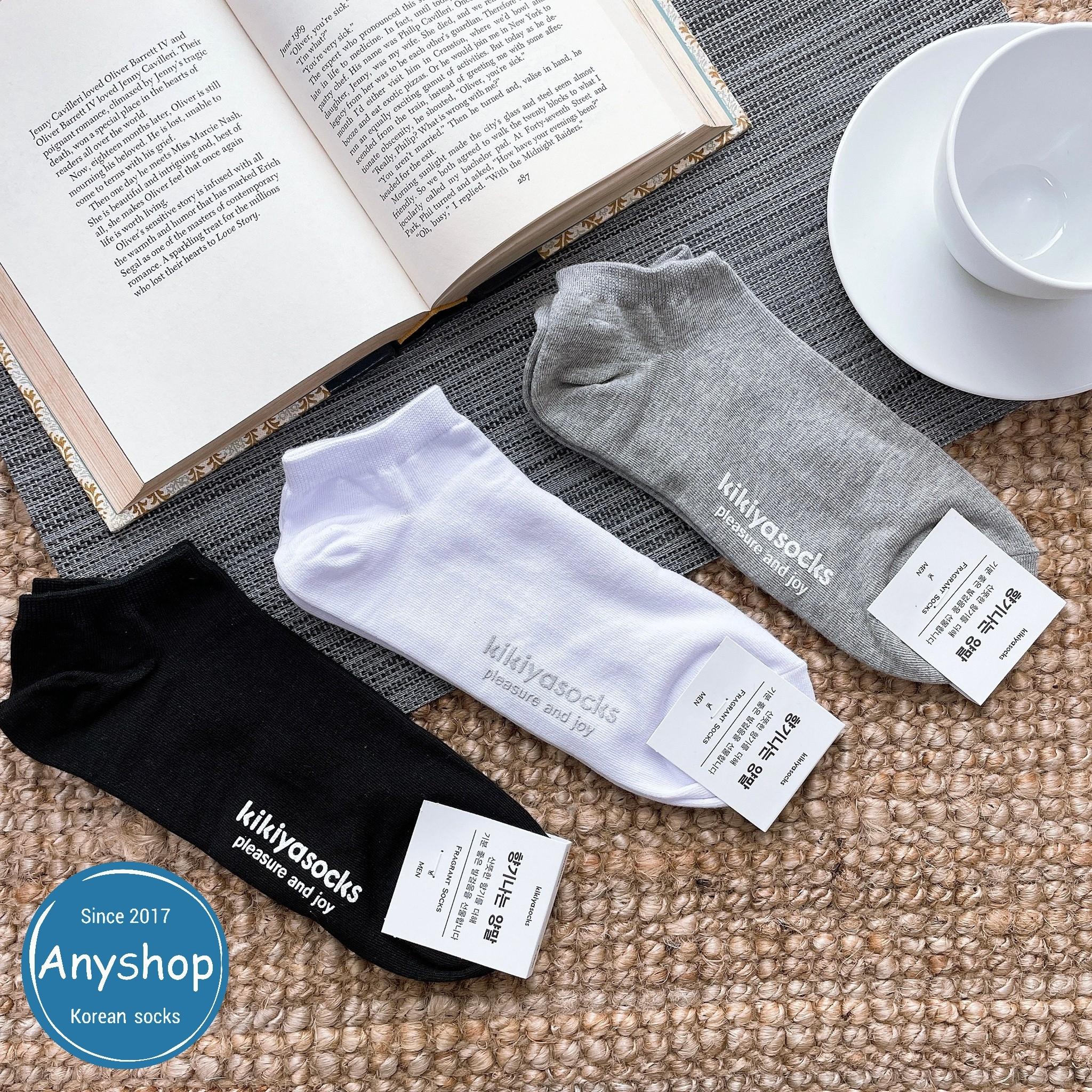 韓國襪-[Anyshop]KIKIYA男士系列香味短襪
