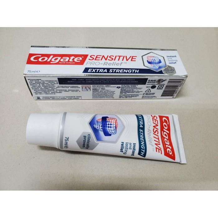 高露潔抗敏專家牙膏-全齒強化 75ml 110g 波蘭製造