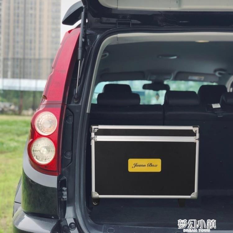 簡森戶外車載移動廚房折疊便攜露營野餐茶桌儲物收納箱帶輪多功能  新年鉅惠