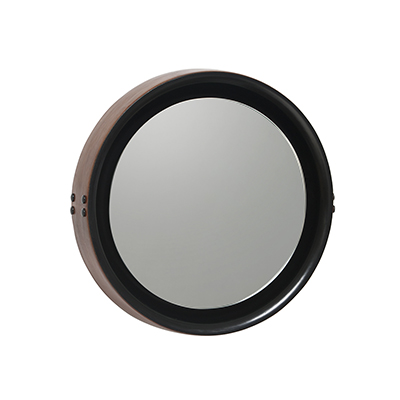 Sophie Mirror 蘇菲 皮框掛鏡(小、Ø 42cm)