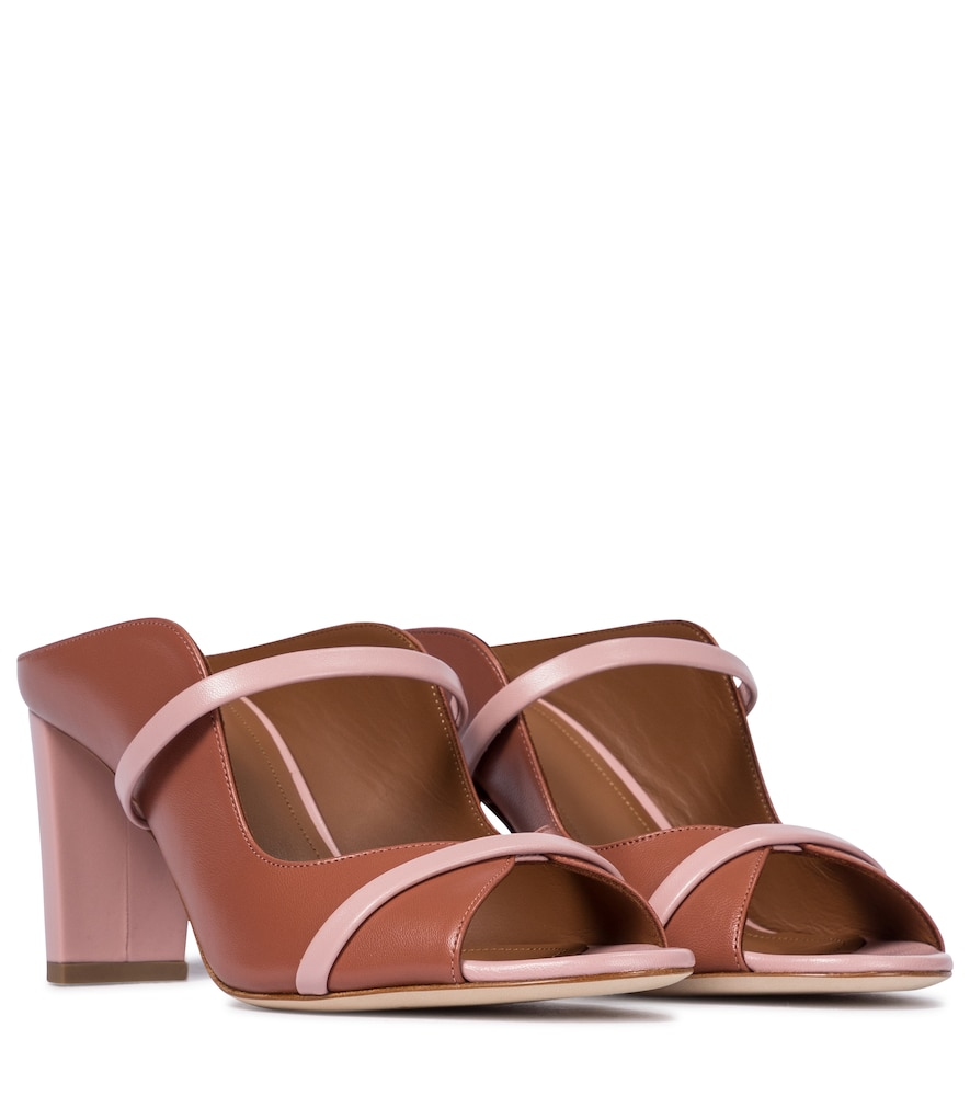 Norah 70 leather mules