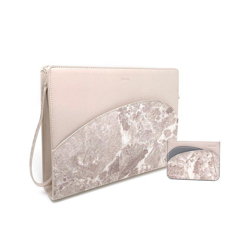 石材面料手拿包/大理石平板包/多功能商務包/中性包