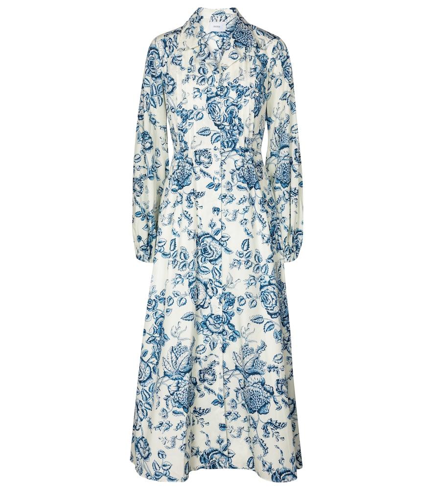 Kendrick Toile de Jouy cotton dress