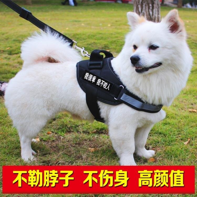 現貨K9狗狗胸背帶遛狗牽引繩金毛拉布拉多薩摩阿拉斯加中大型犬狗錬子