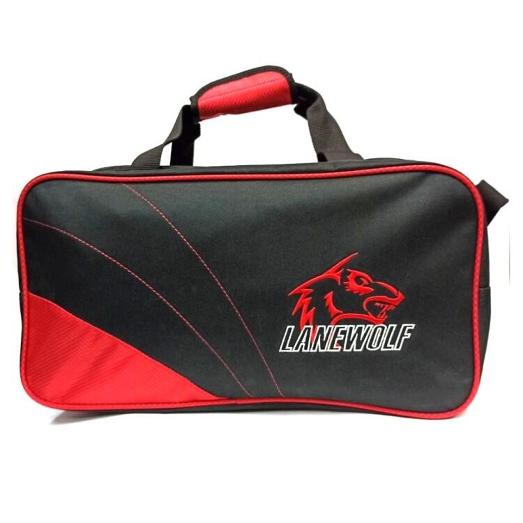 dj80 嚴選lanewolf 可揹提保齡球雙球袋-多色供選(2020新款-無拉桿)