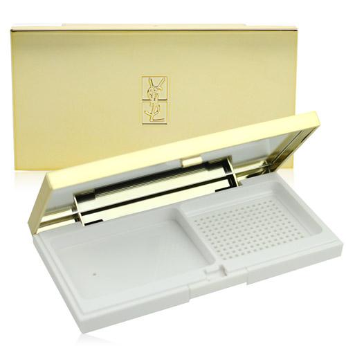 YSL 逆齡肌密綻白光感粉盒[逆齡肌密綻白光感粉餅/超模聚焦光感粉餅通用]【美麗購】