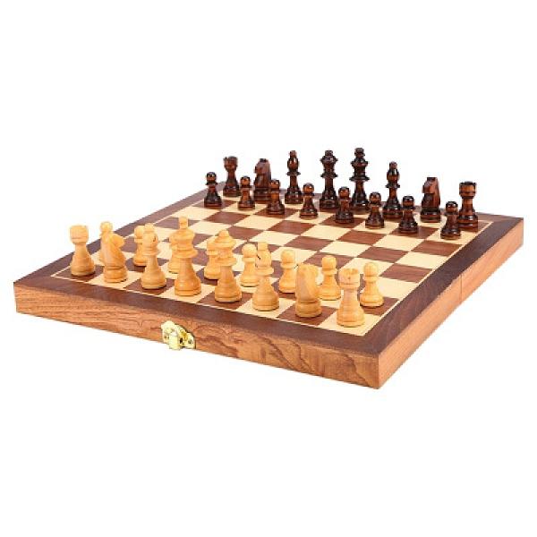象棋 棋子磁性木質國際象棋學生實木質貼面折疊棋盤實木象棋子兒童