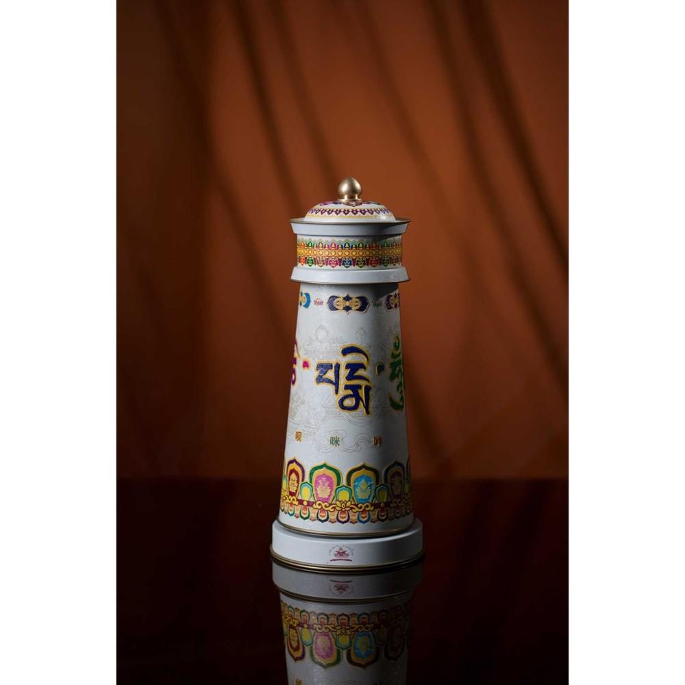 五行觀音菩薩經輪電動轉經輪(婚姻幸福)風水用品密宗法器(都經上師見證如法製作)台灣合法代理商 -