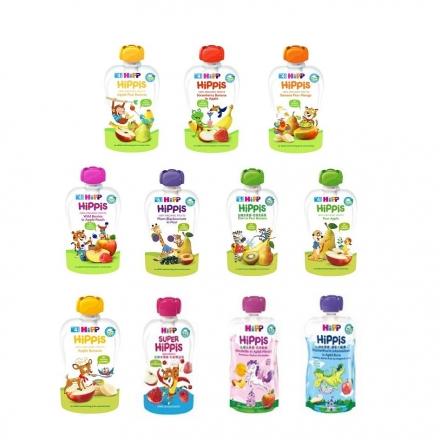 德國 HiPP 喜寶 有機水果趣 有機水果 果泥 無加糖 天然配方100G