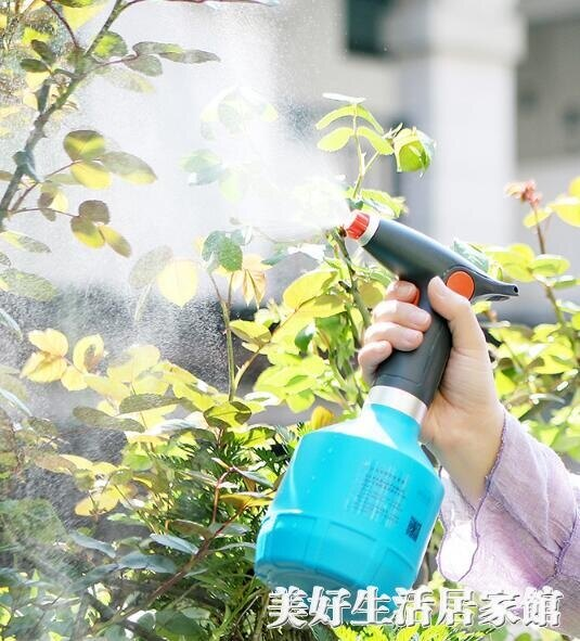 現貨電動澆花噴壺家用消毒酒精清潔專用噴霧器瓶小型號噴水壺澆花神器