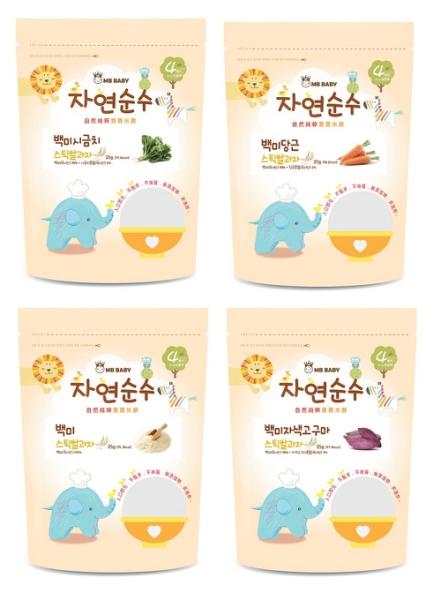 韓國 萌寶寶大米餅