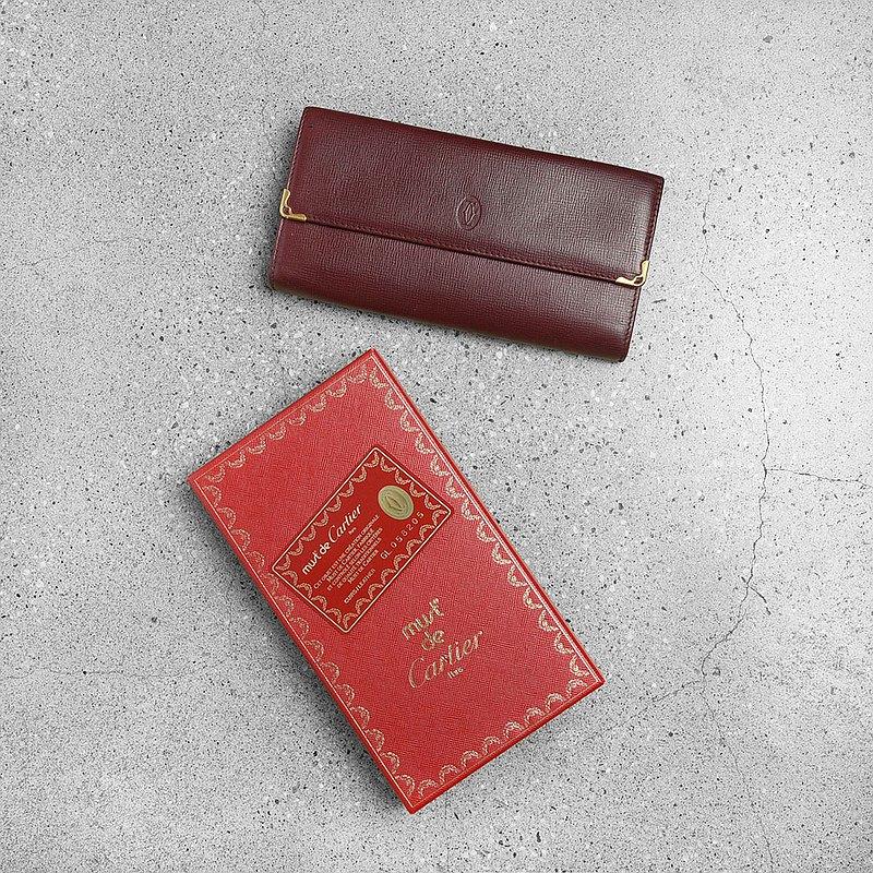 Cartier 古董口金長夾 / Vintage 古著