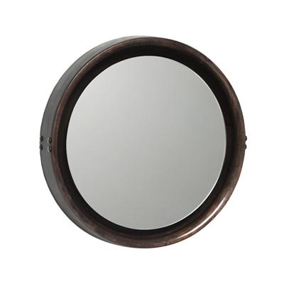 Sophie Mirror 蘇菲 皮框掛鏡(中、Ø 50cm)