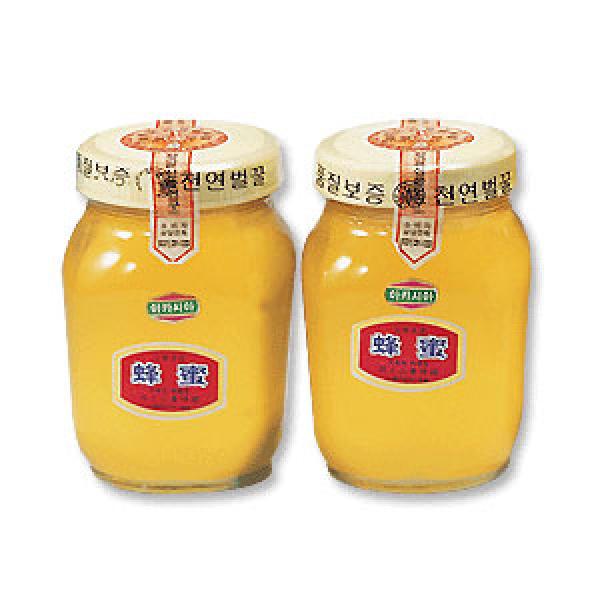 土種蜂 青松 周王山土蜂蜂蜜 槐花蜜 2.4kg(1.2kgx2)