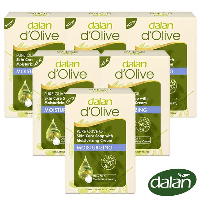 【土耳其dalan】頂級橄欖油深層滋養乳霜皂100g 6入組