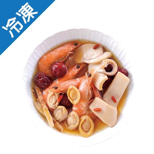 阿一鮑魚-酒香醉三鮮400GX2入/盒【愛買冷凍】