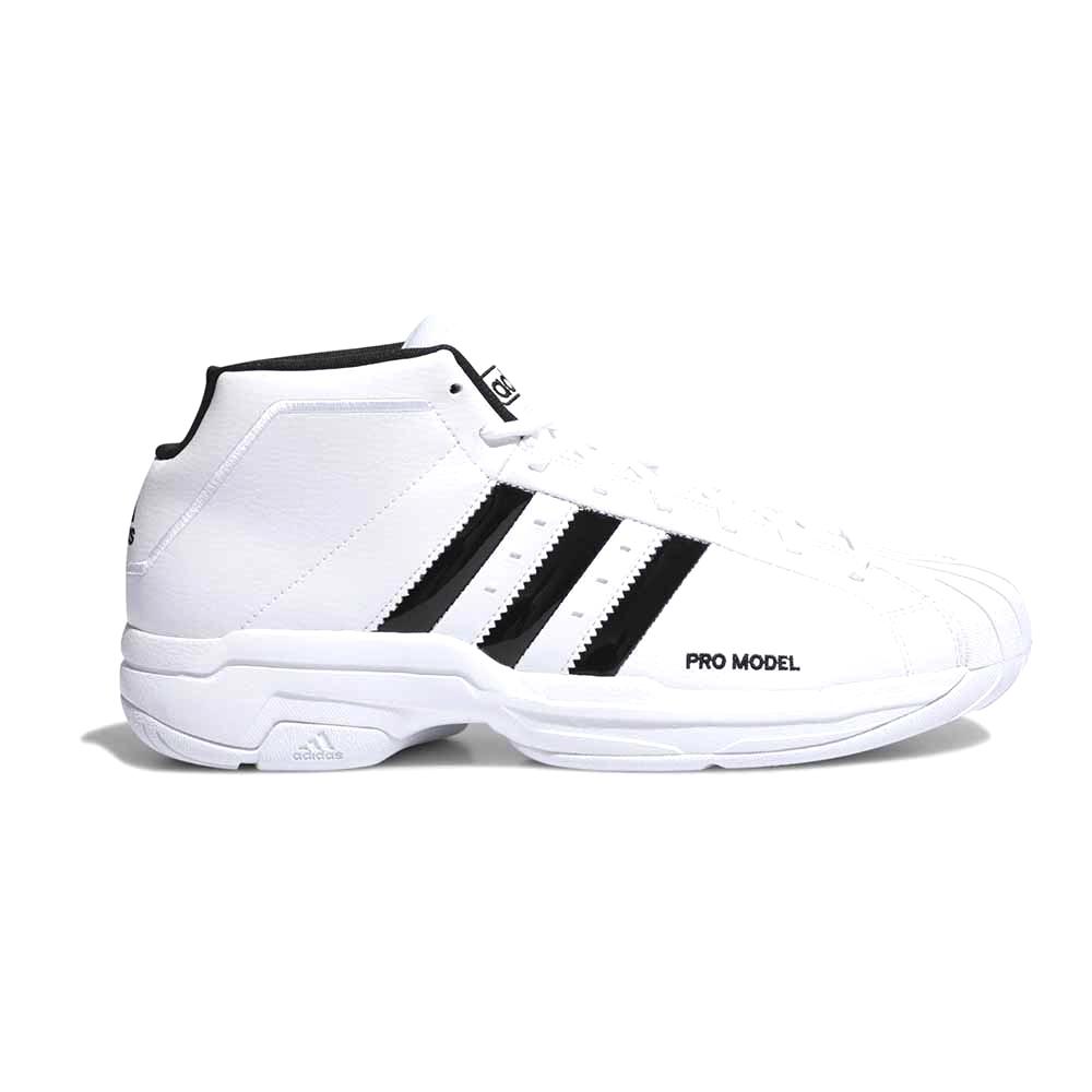 Adidas PRO MODEL 2G 籃球鞋 白色