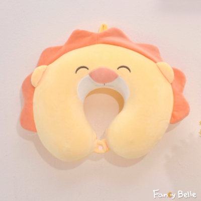 義大利Fancy Belle 微笑獅子 造型記憶頸枕