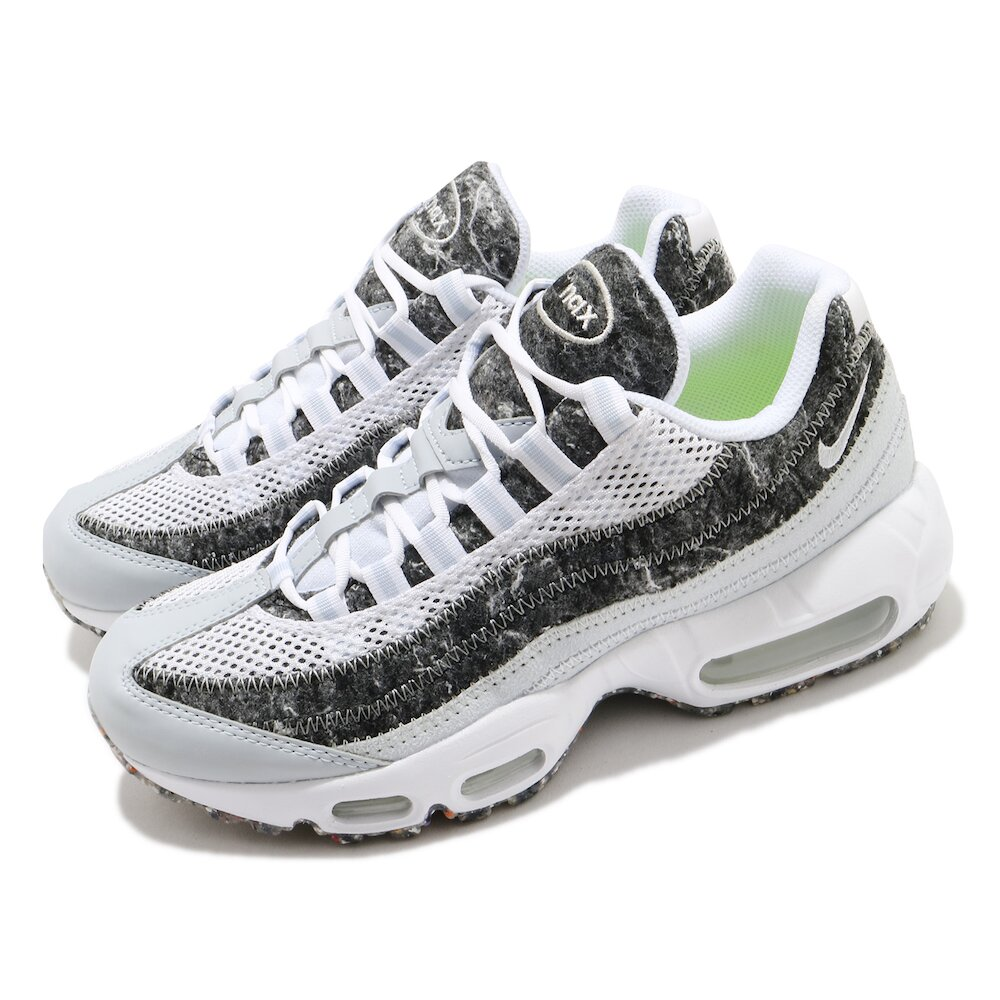 NIKE 休閒鞋 W Air Max 95 SE 女鞋 復古 氣墊 球鞋 穿搭 白 黑 [CV8830-400]