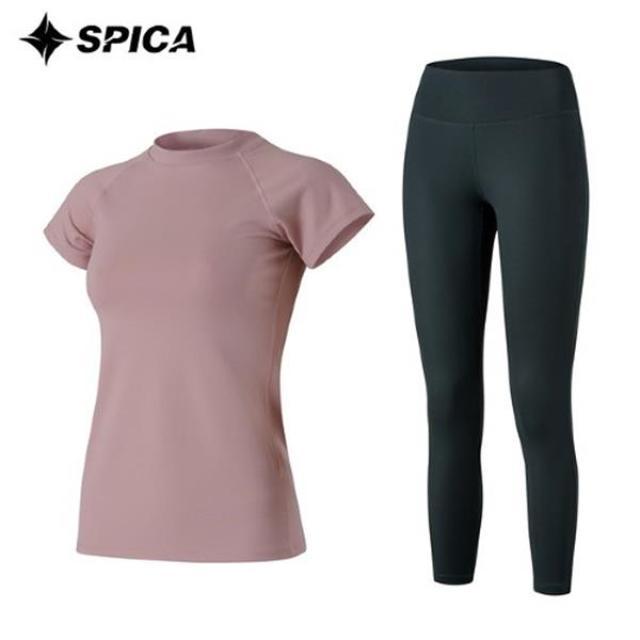 [SPICA] 瑜伽套裝 T恤打底褲 SPA522830 SPA522830