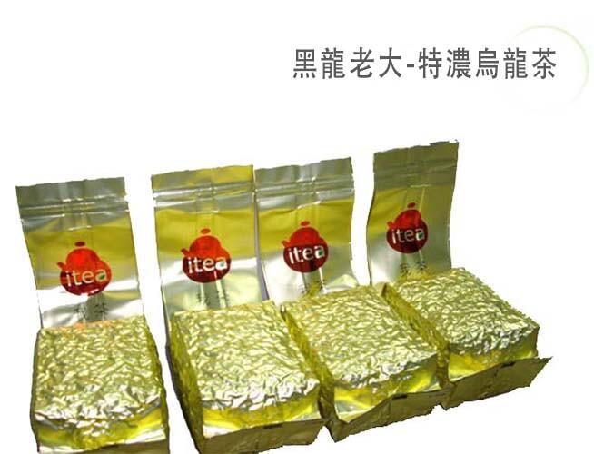 itea我茶 黑龍老大-特濃烏龍茶 150克 節能減碳 4包袋裝(共1斤)