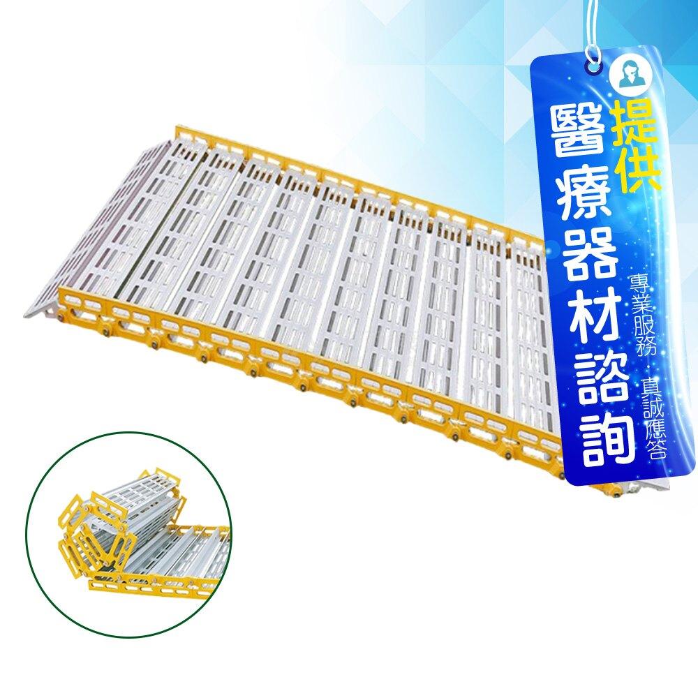 來而康 R91180 捲疊全幅式斜坡板 (寬91.5 板長180cm) 台灣製 斜坡板 斜坡板補助 不含安裝