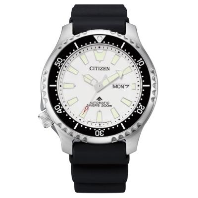 CITIZEN 星辰PROMASTER 鋼鐵河豚潛水腕錶NY0118-11A