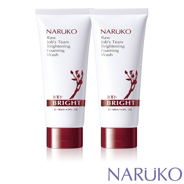 NARUKO牛爾 紅薏仁健康雪白洗面霜 120ml (2入)