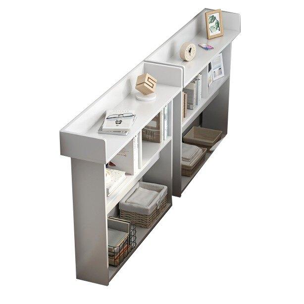 床邊櫃儲物收納小型置物靠墻櫃子