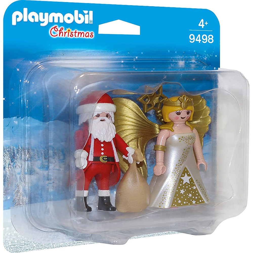 playmobil 摩比人 聖誕老人與天使