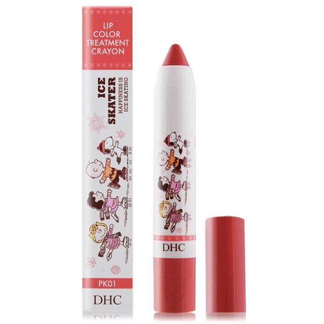 DHC唇彩蠟筆史努比限定版(1.9g)#PK 01粉紅色-期效202111