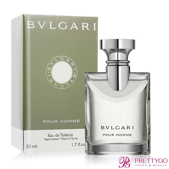 BVLGARI 寶格麗 大吉嶺男性淡香水 Pour Homme(50ml) EDT-公司貨【美麗購】